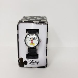 Disney Watch Micky Mouse Women Wrist Watch Black